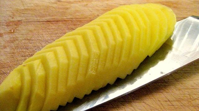 Лесни картофи - на шайби