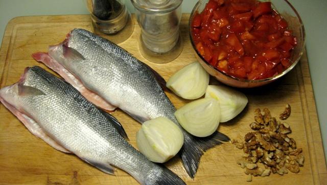 Риба по царски - необходимите продукти