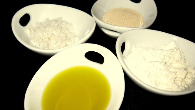 Фокача - необходимите продукти