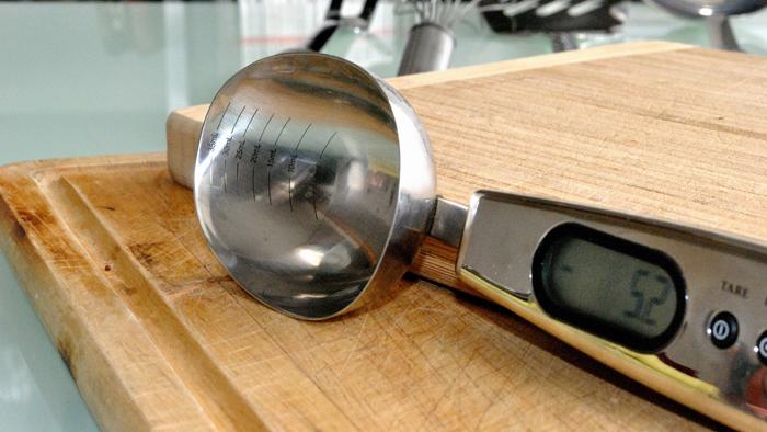 електронна мерителна лъжица
