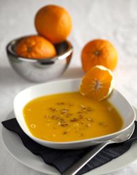 крем-супа от тиква с портокали